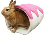 [レインボー]小動物用ハウスロールケーキのおうち(ピンク)
