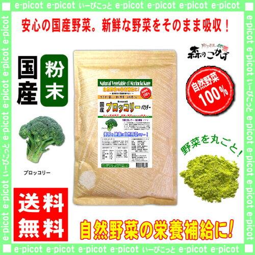国産 ブロッコリー粉末 業務用 ★(500g)[やさいパウダー100%] 野菜ジュースの素 ■ ...