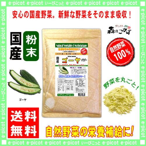 国産 ゴーヤ粉末 業務用 ★(500g)[やさいパウダー100%] 野菜ジュースの素 ■ 国産 ...