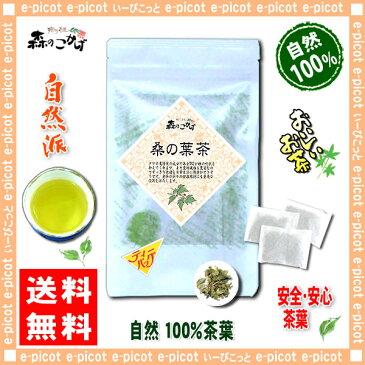 【送料無料】 国産 桑の葉茶 (2g×50p 内容量変更)「ティーバッグ」≪桑葉茶 100%≫ 森のこかげ 健やかハウス