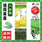 【送料無料】 特上煎茶 (100g) 福岡県 ≪八女茶≫ 緑茶 森のこかげ 健やかハウス