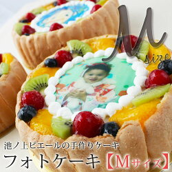 【池ノ上ピエール】フォトケーキMサイズ(約16cm)※他商品と同梱不可