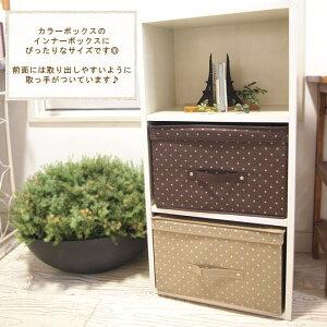 収納/カラーボックスにピッタリなサイズのふた付き収納ボックス♪【メール便不可】収納/収納ボ...