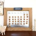 ずっと使える「万年カレンダー」!卓上タイプでオシャレなものは?
