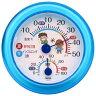 室内用 温・湿時計 TR-103 ブルー 温度計 湿度計 熱中症 インフルエンザ 17-8902 【05P03Dec16】