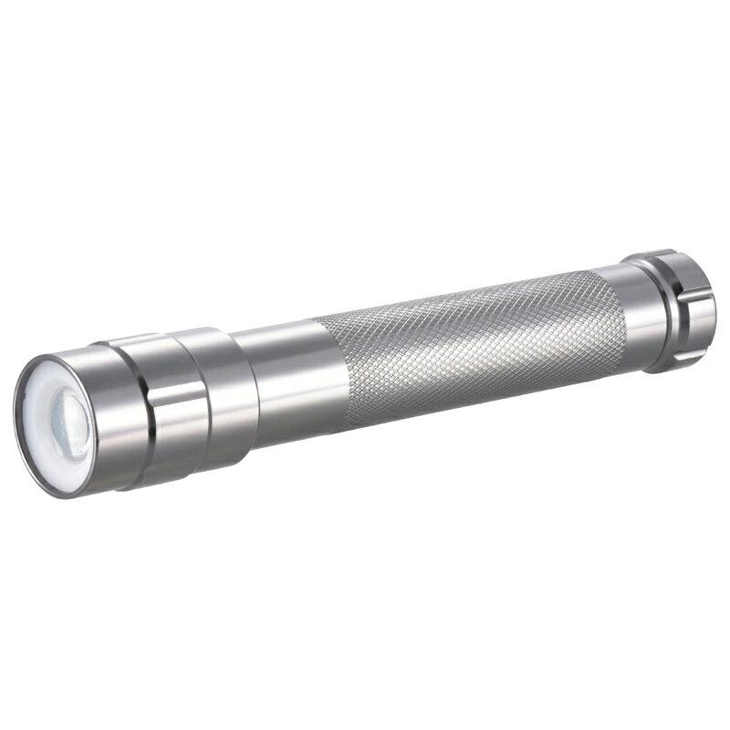 LED懐中電灯 防水 IPX6 ハンディライト  ズーム 200ルーメン OHM LDA-Y4WZ-S 07-8635 オーム電機