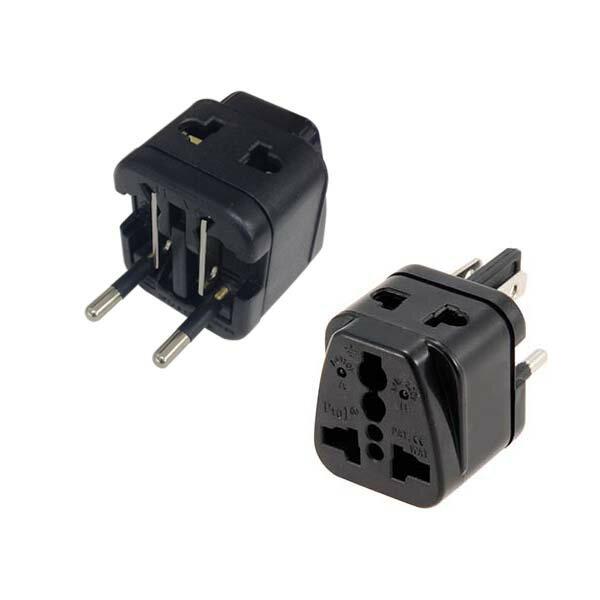 海外用電源形状変換プラグ マルチタイプ 海外旅行に… TRA-A0853G 01-0853 オーム電機