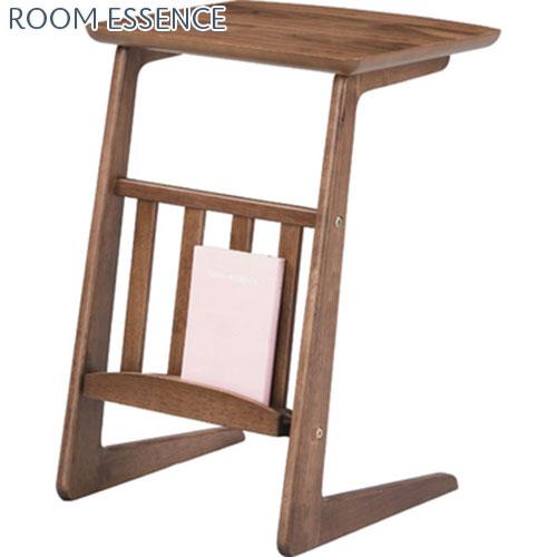 サイドテーブル ソファーテーブル ソファテーブル ベッドテーブル ミニテーブル マガジンラック 飾り台 花台 フラワースタンド 木製 天然木 コンパクト 小さい 軽い 軽量 ソファ横 おしゃれ シンプル レトロ リビング 書斎 一人暮らし 洋室 和室 北欧 木目 幅40cm 小型