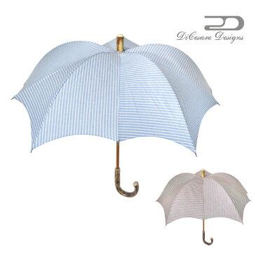 日傘 レディース DiCesare Designs ディチェザレ デザイン 『 カボチャ ヴァンカンツァ』 晴雨兼用傘 傘 かさ カサ 日傘 umbrella 婦人傘 デザイン傘 長傘 おしゃれ かわいい デザイン 女性用 婦人用 贈り物 ギフト プレゼント エレガント パンプキン型 日本製