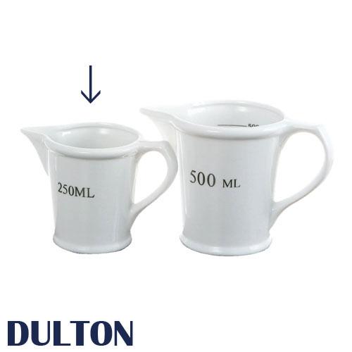 DULTON ダルトン 『セラミック メジャーリングジャグ 250ml Measuring jug 250ml』 雑貨 キッチン用品 調理用具 食事用器具 料理小道具 計量器 量り 計量カップ メジャー クッキング