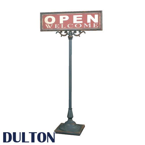 DULTON ダルトン OPEN-CLOSED サインスタンド スタンド看板 サインボード スタンドサイン オープン...