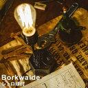 【レトロ球付】 LED 電球対応 テーブルライト デスクライト 1灯式 照明 Borkwalde (ボルクヴァルデ)LT-1597 インダストリアル レトロ アンティーク 読書灯 スチール 裸電球