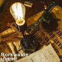 【LED電球付き】 LED 電球対応 テーブルライト デスクライト 1灯式 照明 Borkwalde (ボルクヴァルデ)LT-1598 インダストリアル レトロ アンティーク 読書灯 スチール 裸電球