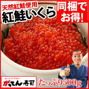 紅鮭いくら醤油漬け500g(250g...