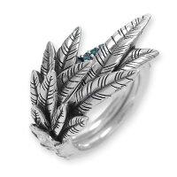 【送料無料・新品・正規品】カナリアリング-青鳥wブルーダイヤモンドArchiveCollectionBloodyMary[ブラッディマリー]bmr0712-bld