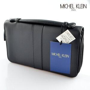 5366a7e72283 ミッシェル・クラン(MICHEL KLEIN). ミッシェルクラン mk-16bk セカンドバッグ ...