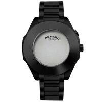 【送料無料・新品・正規品】ROMAGODESIGN[ロマゴデザイン]RM003-1513SS-BKHarmonyseriesミラー文字盤クォーツ腕時計ブランドファッション腕時計【】