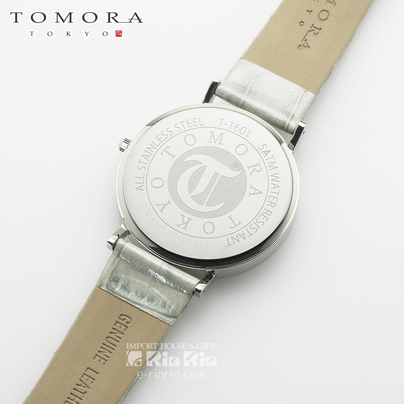 【a・新品・正規品】TOMORA TOKYO t-1601-gbkgy 日本製クォーツ腕時計 T-1601 GBKGY