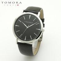 【a送料無料・新品・正規品】TOMORATOKYOt-1601-sbkbk日本製クォーツ腕時計T-1601SBKBK