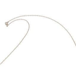 ネックレス チェーン 18金 ホワイトゴールド 荒小豆チェーン 幅1.3mm 長さ55cm 鎖 K18WG 18k 貴金属 ジュエリー レディース メンズ