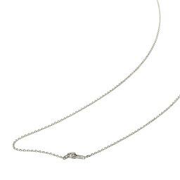 ネックレス チェーン 18金 ホワイトゴールド 4面カット小豆チェーン 幅1.2mm 長さ60cm 鎖 K18WG 18k 貴金属 ジュエリー レディース メンズ