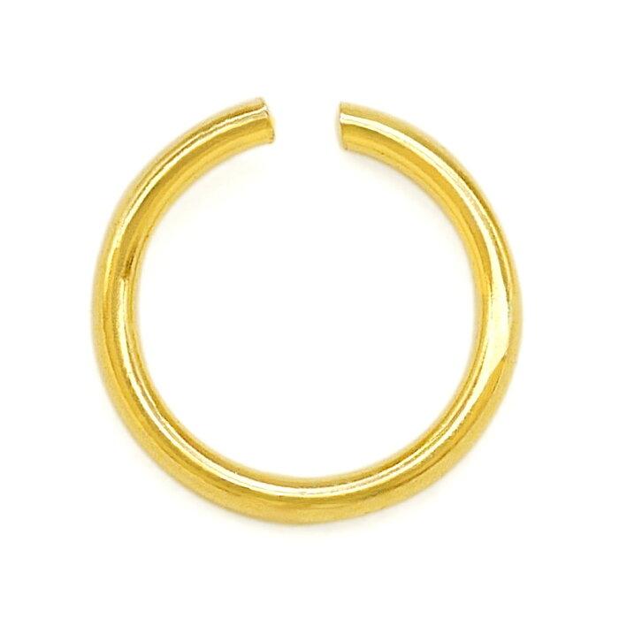【1個売り】 丸カン 18金 イエローゴールド 丸環 線径0.3mm 直径2.6mm マルカン|手芸用品 金具 飾り パーツ 部品 K18YG 18k 貴金属