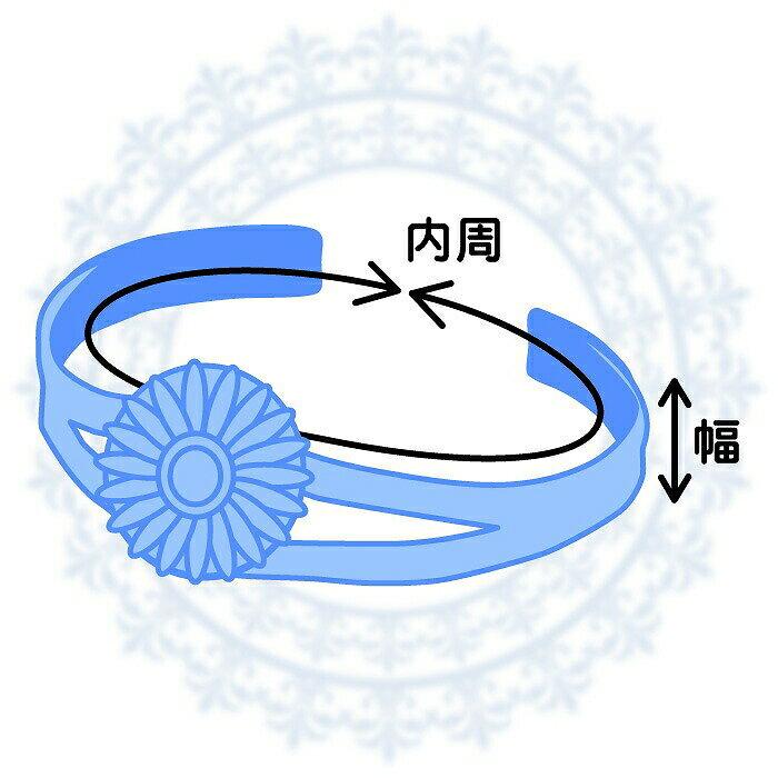 バングル サージカルステンレス 中央が窪んだデザインバングル 内周少し小さめサイズ 銀色 シルバー カフブレスレット 腕輪 医療用ステンレス アクセサリー レディース メンズ