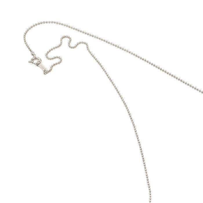 ネックレス チェーン PT850 プラチナ ボールチェーン 幅1.0mm 長さ50cm|鎖 850pt 貴金属 ジュエリー レディース メンズ