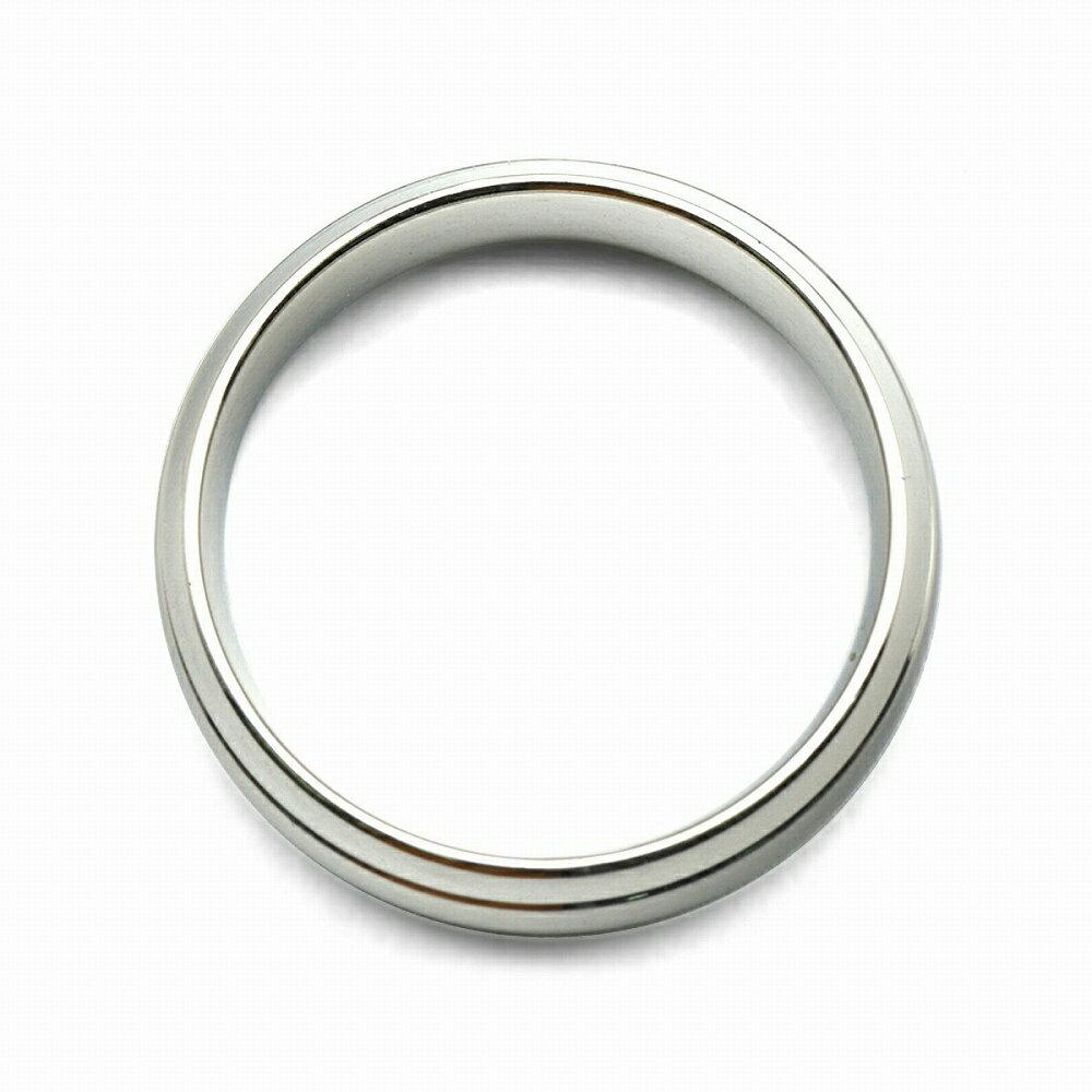 指輪 サージカルステンレス 段付きリング 幅7.0mm 銀色 シルバー|医療用ステンレス アクセサリー レディース メンズ