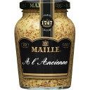 ■MAILLE種入りマスタード 210g【粒マスタード、芥子、 からし、カラシ、洋がらし、マイユ、香...