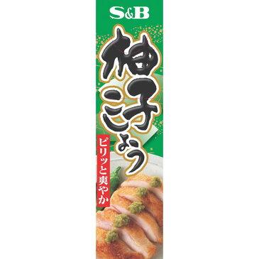 柚子こしょう【チューブ/ねり製品/調味料/SB/S&B/エスビー/楽天/通販】【05P09Jul16】