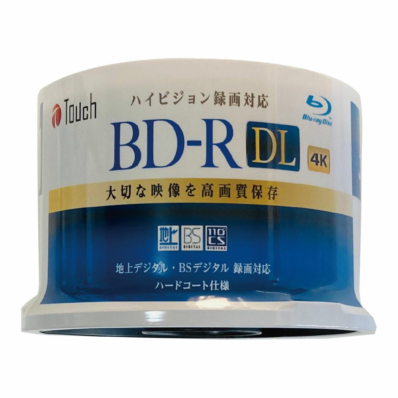 録画・録音用メディア, ブルーレイディスクメディア BD-R DL 50GB 50 DL50 DL 2 1-6 1 BD-R50DLS50 50 TouchE-