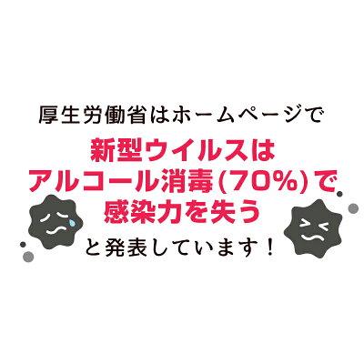 手指用アルコール70%