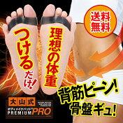 【メール便】ついに出た!強化版「大山式ボディメイクパッドPRO」立ち仕事、アスリート、足を酷使するあなたの足指を強力にサポート!効いてる感じがたまらない!強いパッドをお探しの方にオススメ!初心者の方はPREMIUMが最適です。
