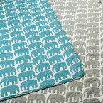 東京西川 フィンレイソン 敷きパッド 水洗いキルト ゾウ シングル FI9602