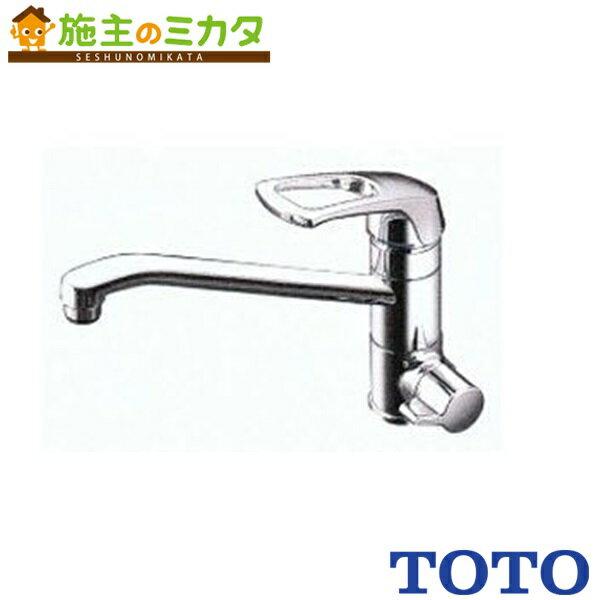 TOTO キッチン用水栓金具 【TKG38-1SA】 Gシリーズ 元止め式台付シングル混合水栓 蛇口★
