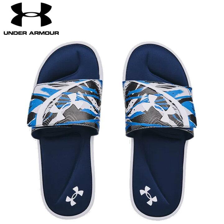 サンダル, スポーツサンダル UNDER ARMOUR UA Ignite VI Graphic FB White Blue