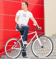 ★スーパーSALE★【送料無料】自転車ピストバイクGRAPHISGR-003(6色)自転車700cピストバイクフリーギアシングルギアシングルスピードロードバイクスポーツアウトドア街乗りストリートメンズレディース【アウトレット在庫過剰のため】クリスマス☆