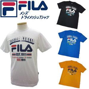 フィラ FILA メンズ ドライメッシュ プリントTシャツ FM4180