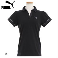(プーマ)PUMAレディーススキッパー半袖ポロシャツ591897スーパーSALE期間だけ半額以下、ポイント5倍
