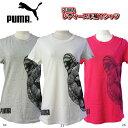 プーマ PUMA レディースキャットヘッド半袖Tシャツ 594508