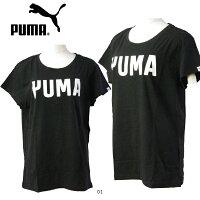 プーマPUMAレディースアスレチック半袖Tシャツ594681
