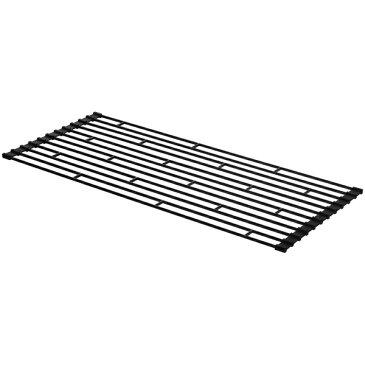 【山崎実業 折り畳み水切りラック タワー L ブラック (KT-TW AB L BK)】【楽ギフ_包装】fs04gm、【RCP】