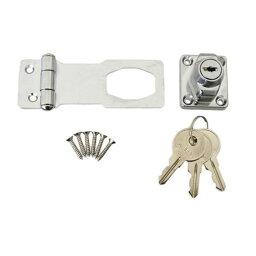 J-456 鍵つき掛金錠 75mm 3本キー 71456