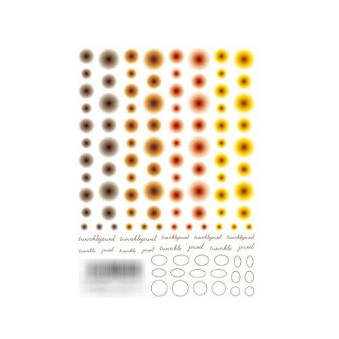 TSUMEKIRA(ツメキラ) ネイルシール 冨田絹代プロデュース1 Infinity-one warm NN-TMI-101