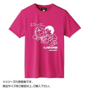 DONIC I'm DORAEMON 卓球Tシャツ C ピンク 130 YL127 [ラッピング不可][代引不可][同梱不可]
