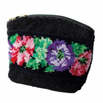 產品詳細資料,日本Yahoo代標 日本代購 日本批發-ibuy99 包包、服飾 包 箱包配件 袋組織者/袋中袋 日本製ミニポーチ(ブラック) AH-2006 3092-224