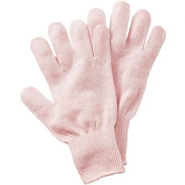 シルク混おやすみ手袋ピンク [キャンセル・変更・返品不可]