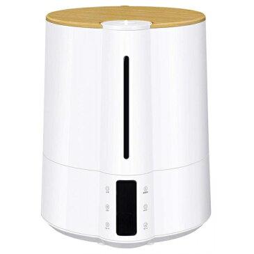 上部給水大容量ハイブリッド加湿器「グランミスト」湿度コントロール機能付 ホワイト HB-T1826WH [キャンセル・変更・返品不可]