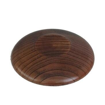 木製茶托 蘭彫 スリ 4.0寸 [キャンセル・変更・返品不可]